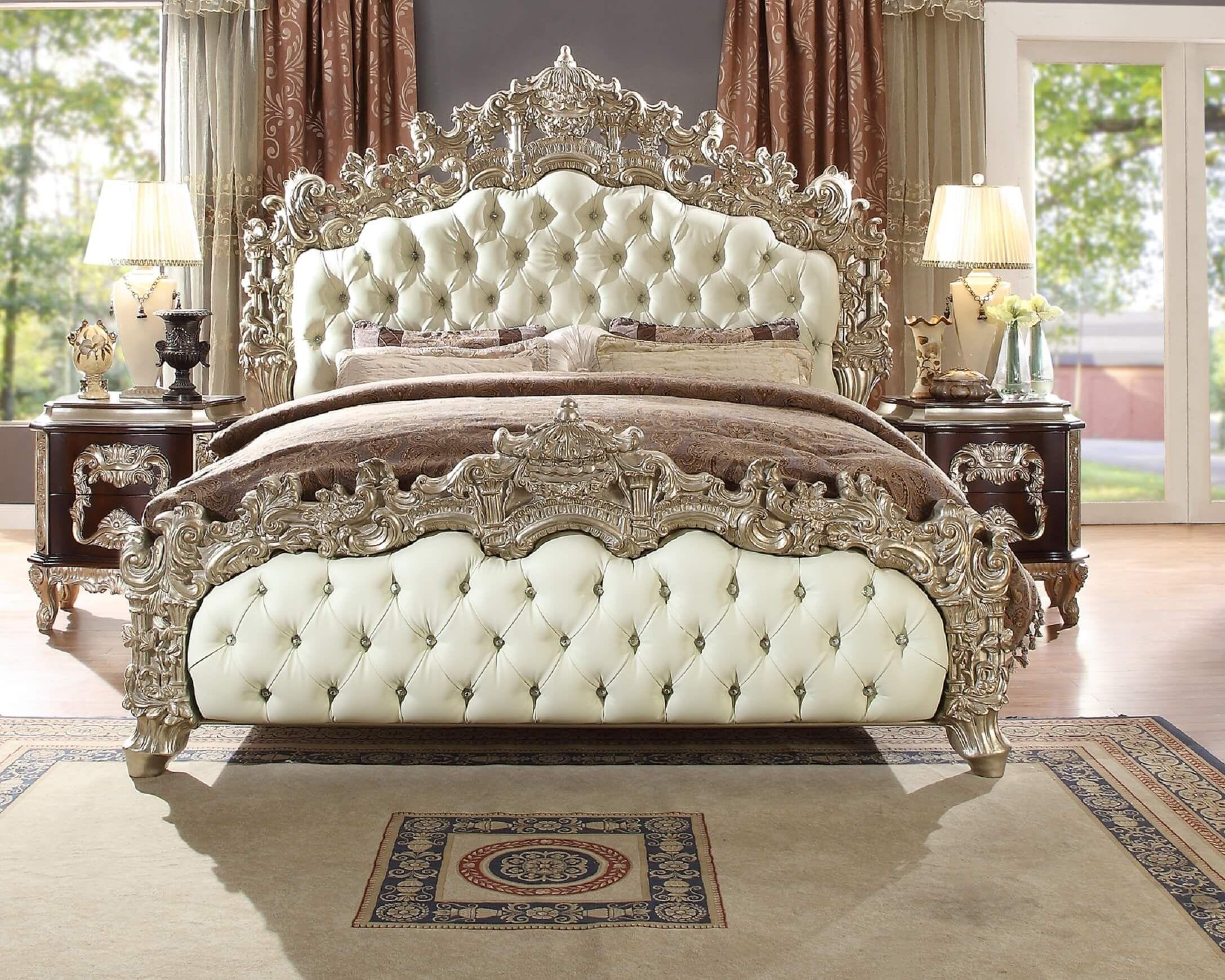 Homey Design Hd 8017 Cleopatra Bed Traditional Bedroom Bedroom
