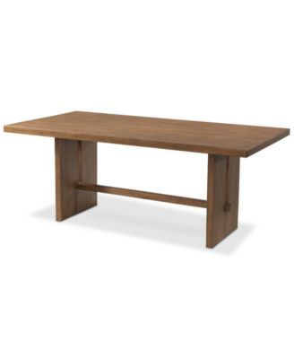 Closeout Athena Dining Trestle Table Furniture Dining