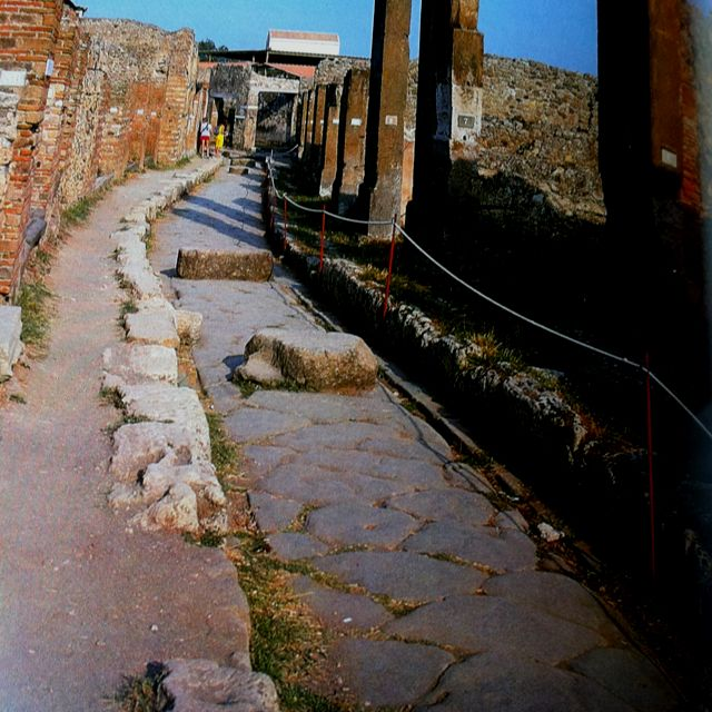 Ruinas Ciudad de Pompeya Napoles Italia ( año 79 d.c )