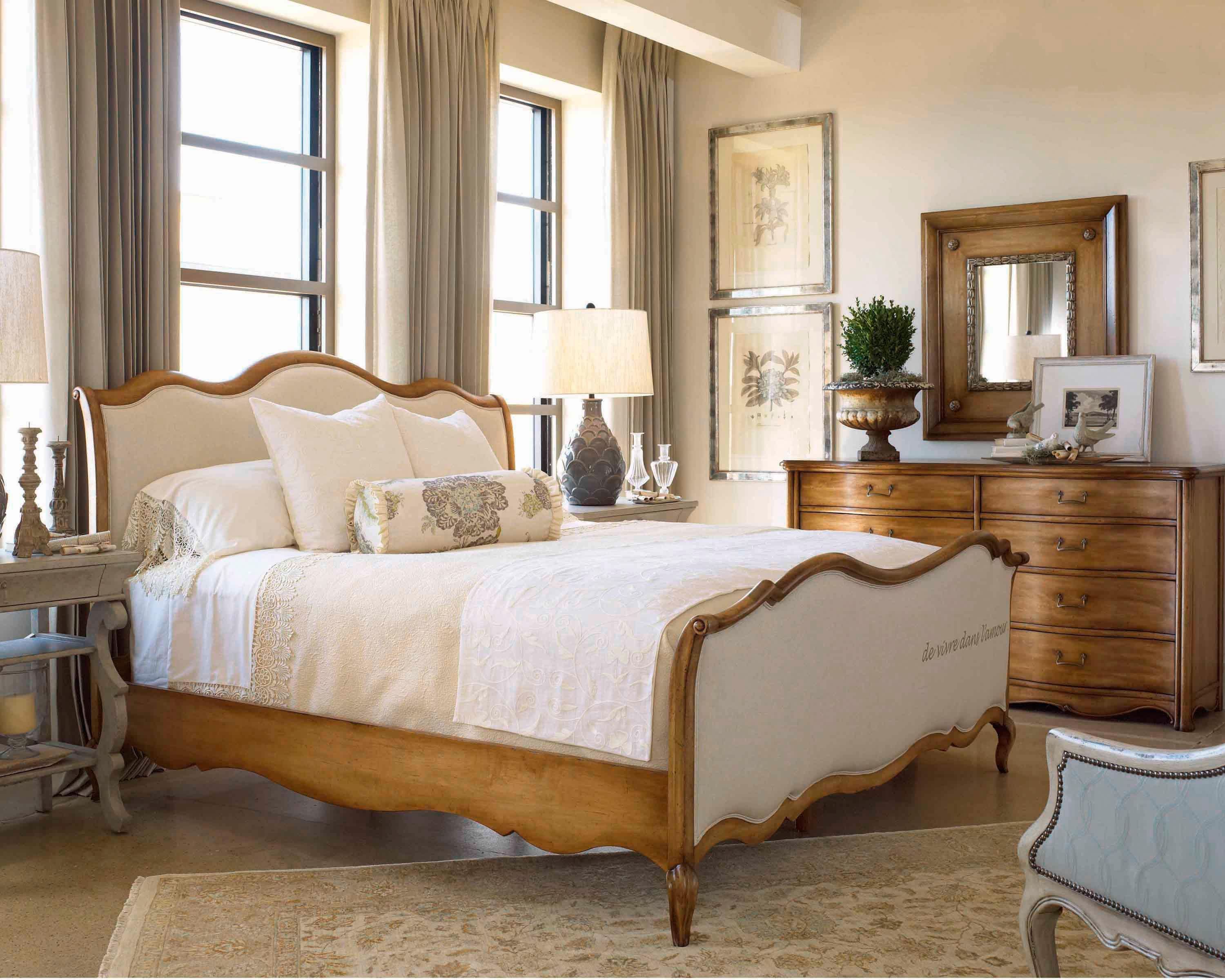 Love This Set Super Romantic Imo European Market 850 By Drexel Heritage Baers Furniture D Luxury Bedroom Furniture Upholstered Sleigh Bed Bedroom Sets