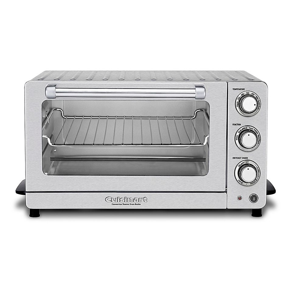 Cuisinart Toaster Oven Broiler With Interior Oven Light In