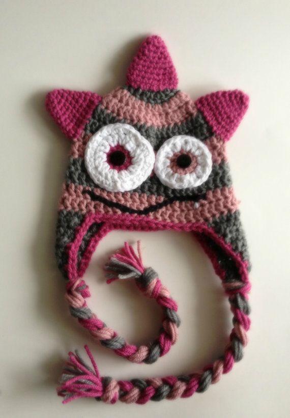 Crochet Little Monster Hat  c5abcb824fe