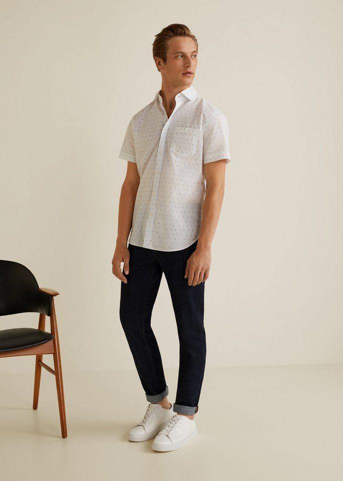 MANGO MAN Regular Fit shirt in soft cotton