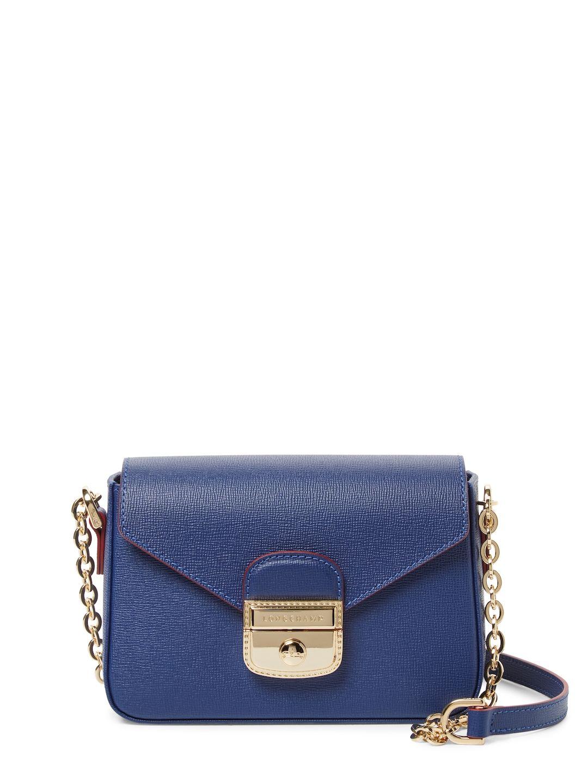 3dcd3ac731 LONGCHAMP WOMEN S LE PLIAGE HERITAGE LEATHER CROSSBODY BAG - DARK  BLUE NAVY.  longchamp  bags  shoulder bags  leather  crossbody  metallic