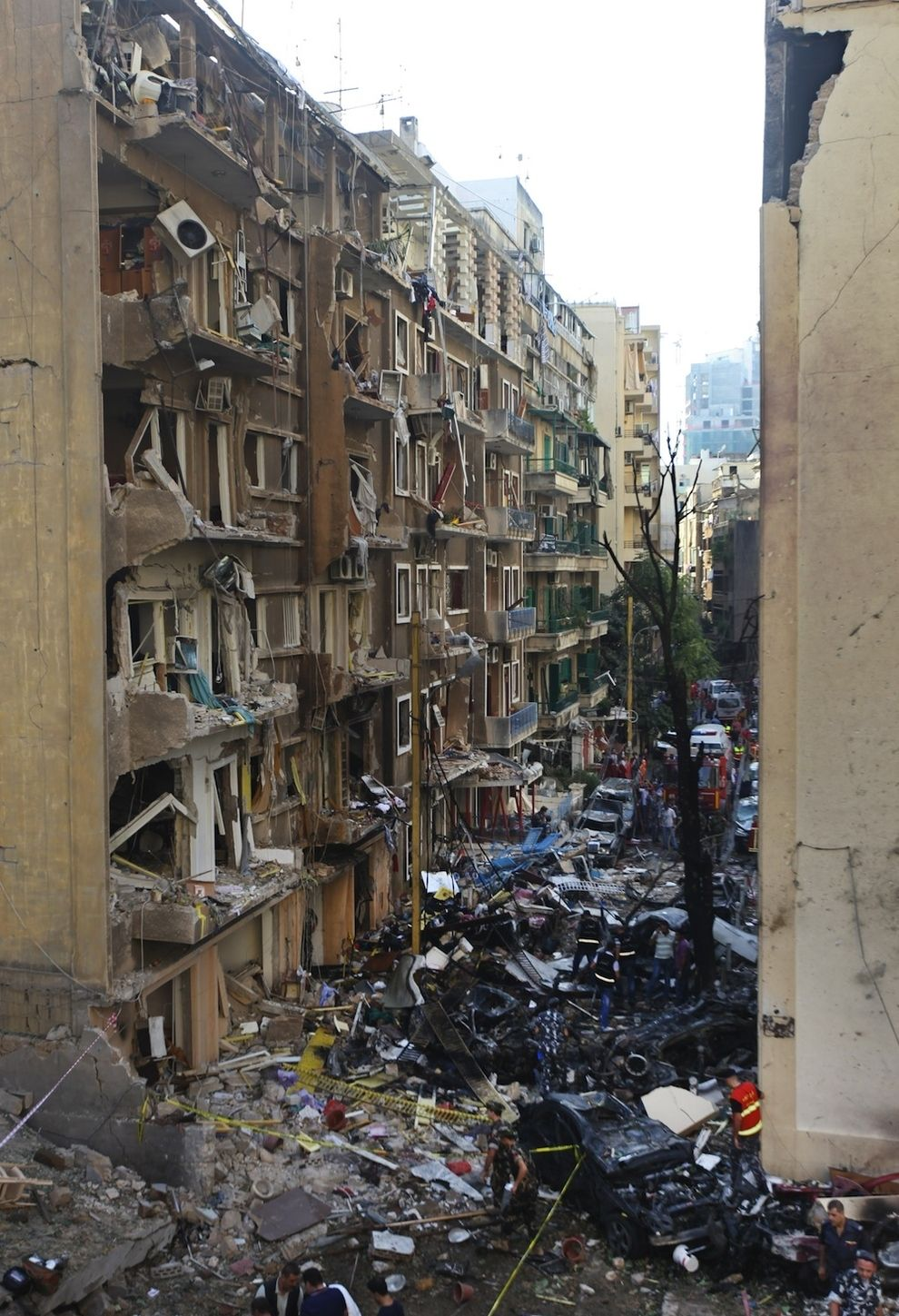 Horrifying Images From The Aftermath Of Beirut Bombing Lebanese