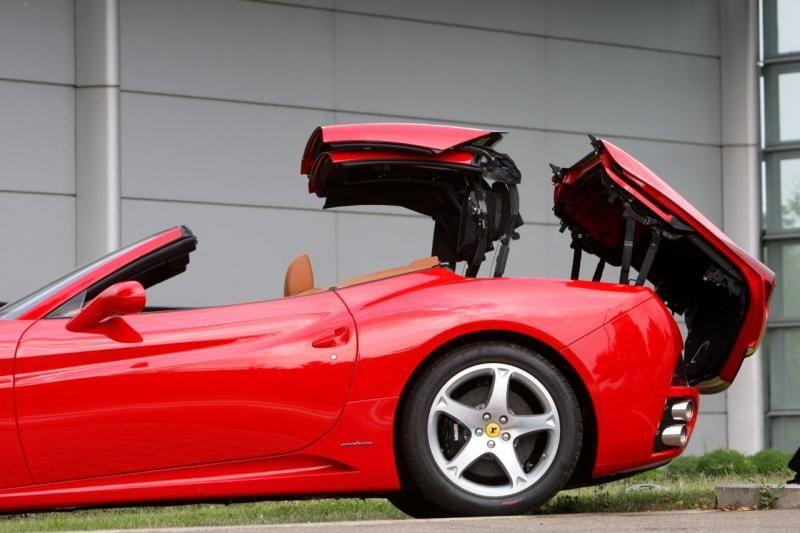 Ferrari California History Convertible