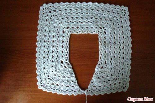 Patron para tejer un bolero para niña a crochet07 | Bolero crochet ...