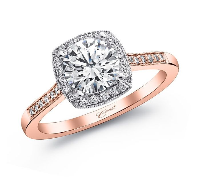 Engagement ring LC5391RG Rose Gold Collection Coast Diamond