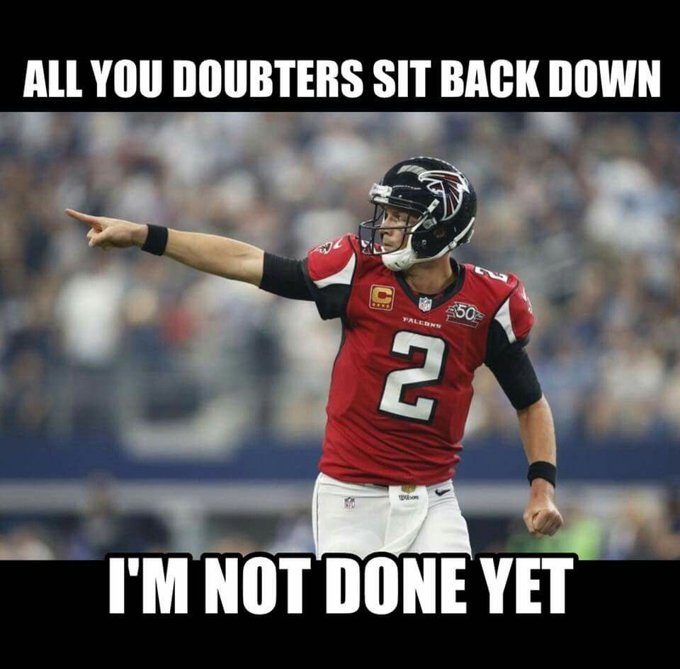 Matty Ice Has One More Game This Year Atlanta Falcons Football Atlanta Falcons Logo Atlanta Falcons Baby