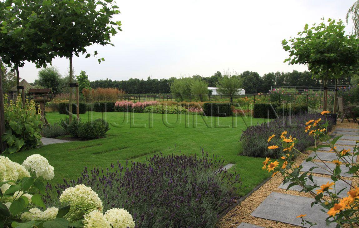 Groot gazon tuinontwerp natuurlijke moderne tuin maarssen for Tuinontwerp natuurlijke tuin