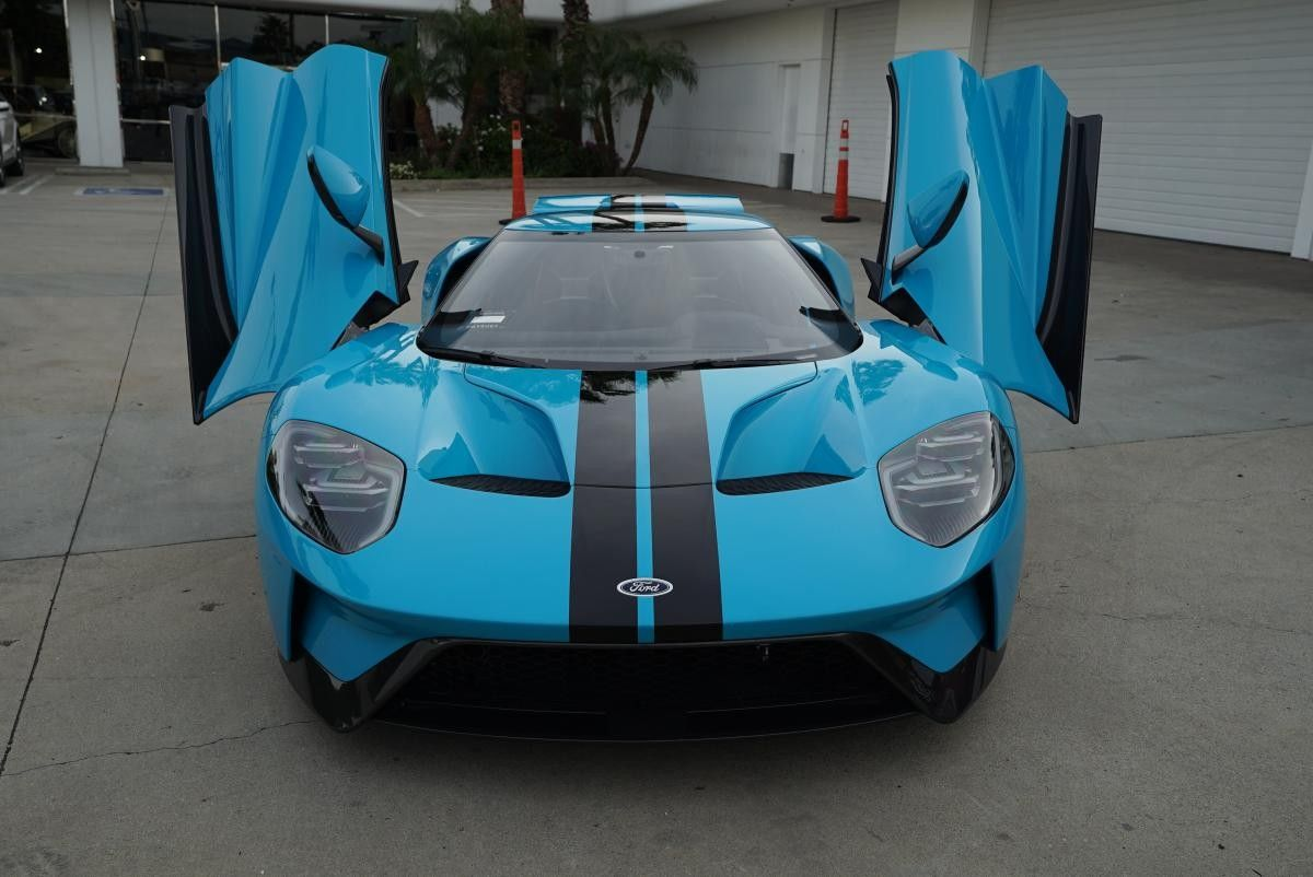 Ford Gt Miami Blue