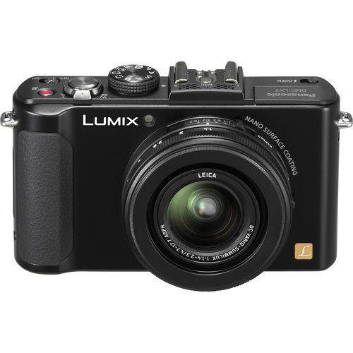 Panasonic LUMIX DMC-LX7K 10.1 MP Digital Camera with 7.5x Intelligent zoom and 3.0-inch LCD -  Black