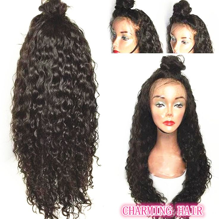 http://www.dhgate.com/store/product/water-wave-human-hair-wigs-wavy-brazilian/395500279.html water wave human hair wig on sale email:info@chinacharminghair.com whatsapp:+8615066218692