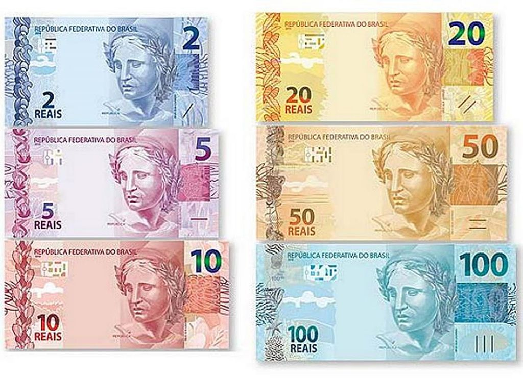 Brazilian Currency Real Show Me The
