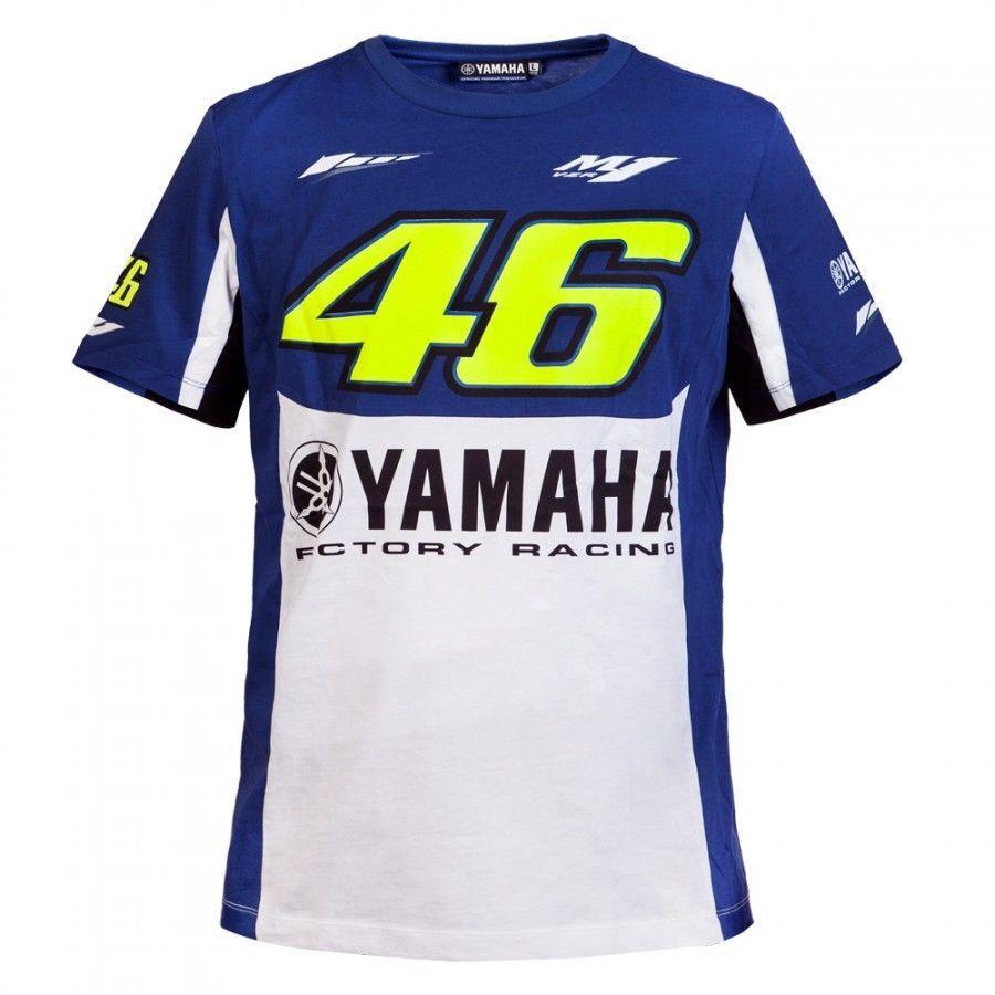 YAMAHA FACTORY RACING T SHIRT S-XXXL COLOURS RACING GP MOTOBIKE MOTO ROSSI