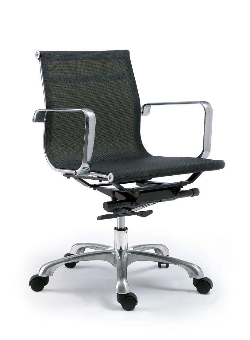 Sigma office chair low back black m2