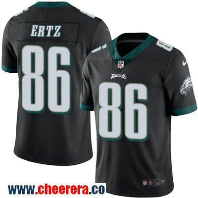 the latest 4f2ed 44625 best price mens zach ertz limited black nike jersey nfl ...