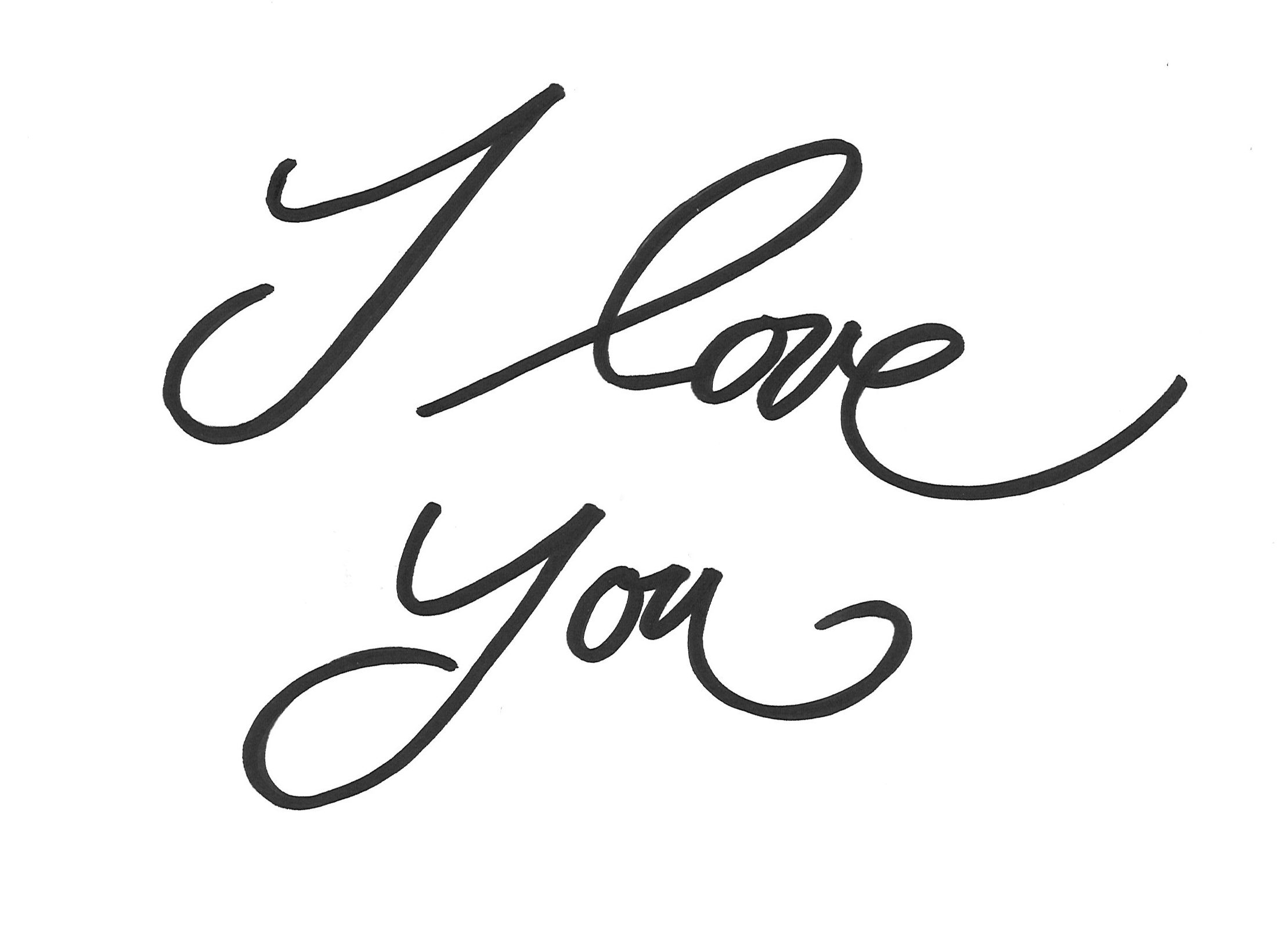 malvorlagen i love you | ausmalbildkostenlos.com | Pinterest