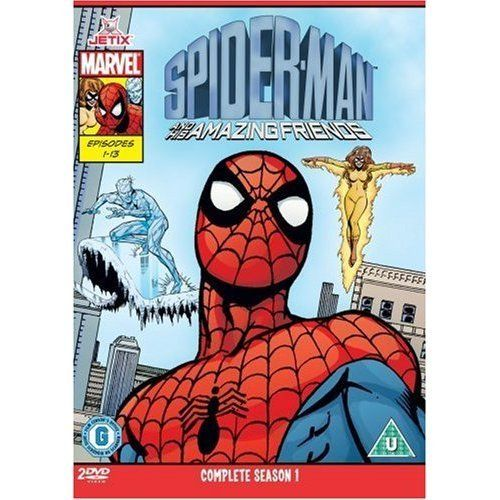 Amazon Com Spiderman And His Amazing Friends The Complete First Season Movies Tv Spiderman Best 80s Cartoons Silver Surfer Comic