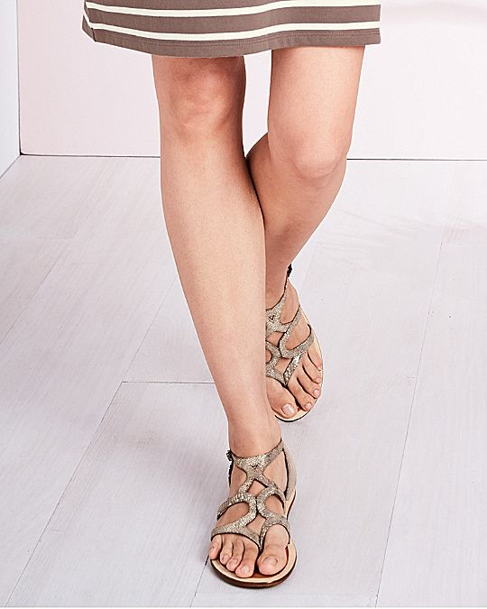 30adf72597b 100+ 5-star reviews for comfort! Gentle Souls Upon-a-Star Gladiator Sandals