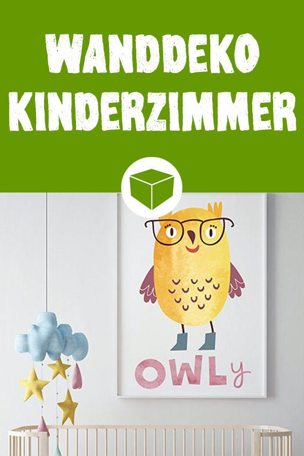 Kreative Wanddeko fürs Kinderzimmer Kinderzimmer