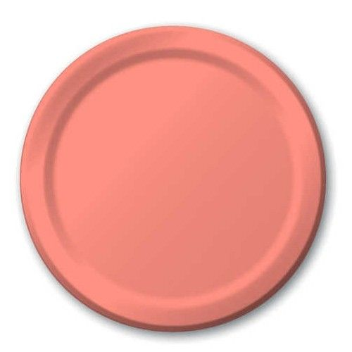 Solid Light Coral 7 inch Paper Plate  sc 1 st  Pinterest & Solid Light Coral 7 inch Paper Plate | Start 3 | Pinterest
