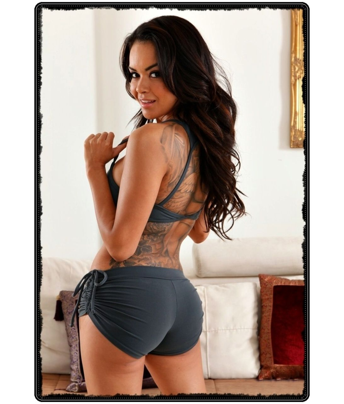 Remember Gorgeous And Shapely Brunette Brittania Ochoa Aka Daisy Marie Sexy Body In Hot Shorts She Was Born In Glendale California She Retired In 2014