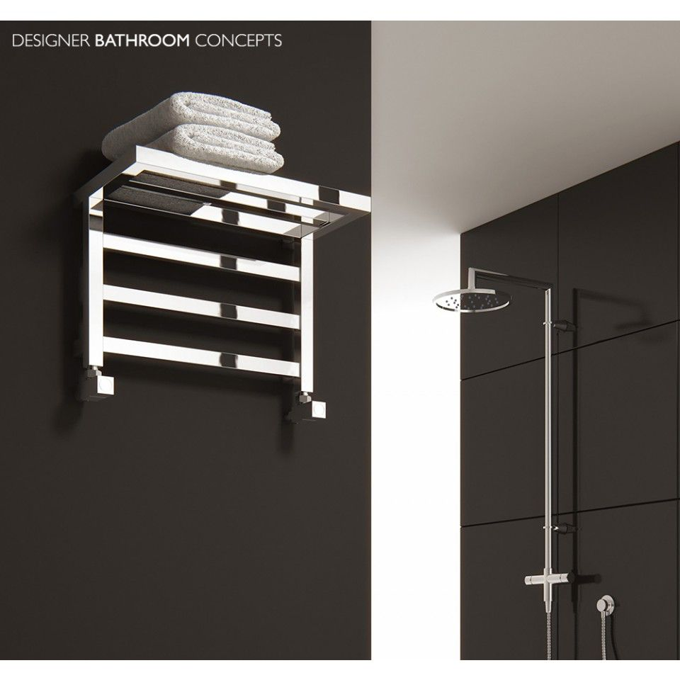 Elvina Designer Bathroom Central Heated Towel Rails Main Image