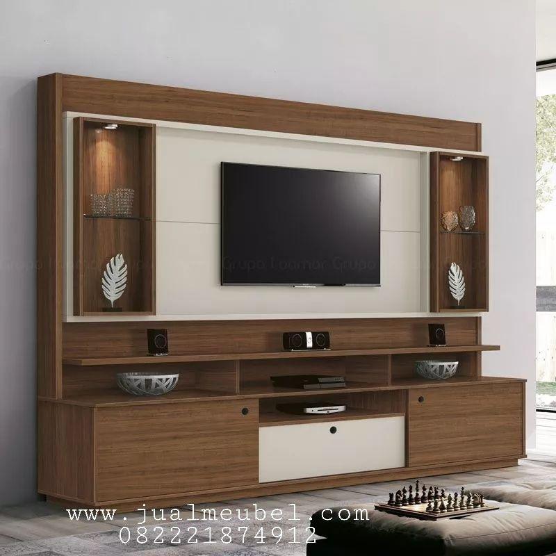 Set Rak Tv Mewah Modern Tv Wall Units Tv Unit Decor Tv Unit