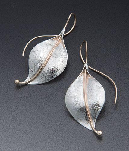 Deborah Richardson Leaf Earring