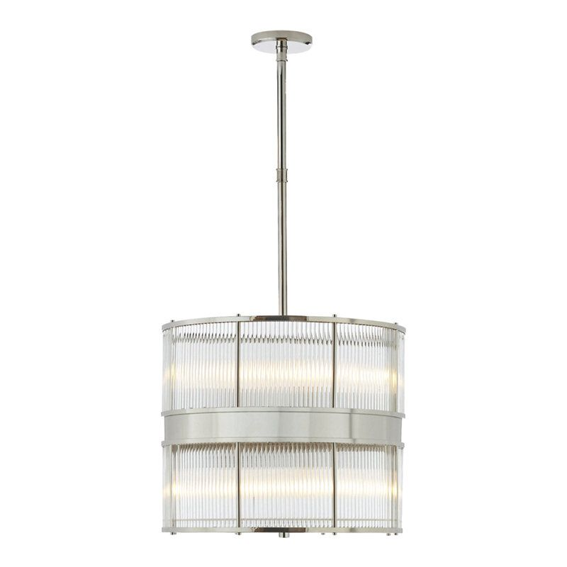 Allen Large Pendant in Polished Nickel - Ceiling Fixtures - Lighting ...