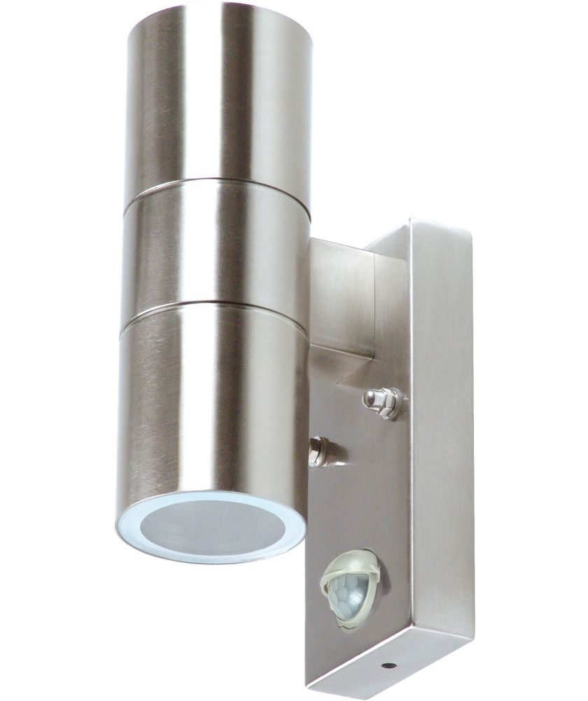 Buy ranex arezzo double outdoor wall light with motion detector at buy ranex arezzo double outdoor wall light with motion detector at argos aloadofball Image collections