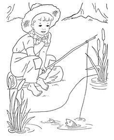 Boys Digi Stamps Coloring Pages