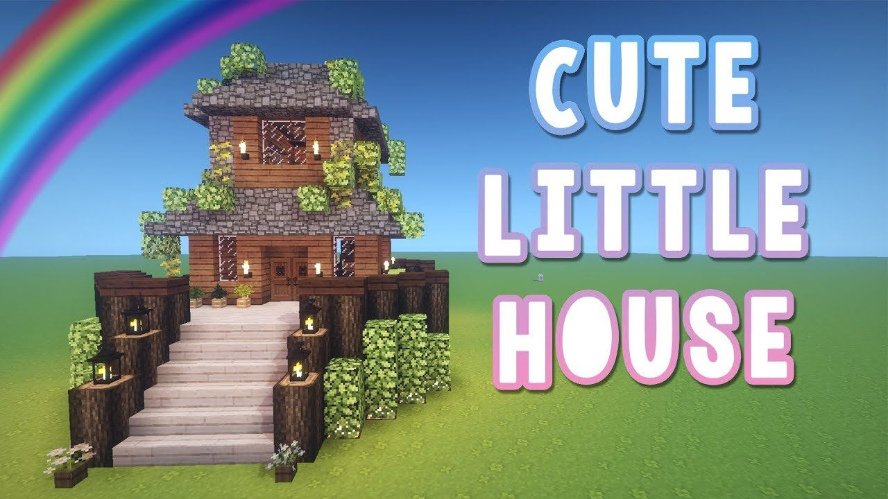 Cute Little House A Minecraft Tutorial Youtube Minecraft Tutorial Minecraft House Tutorials Amazing Minecraft