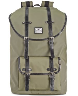 89cbe14b5f4f Steve Madden Men s Coated Utility Backpack -