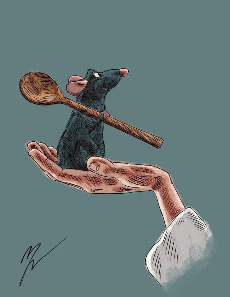 I drew Ratatouille!I hope you like!!!
