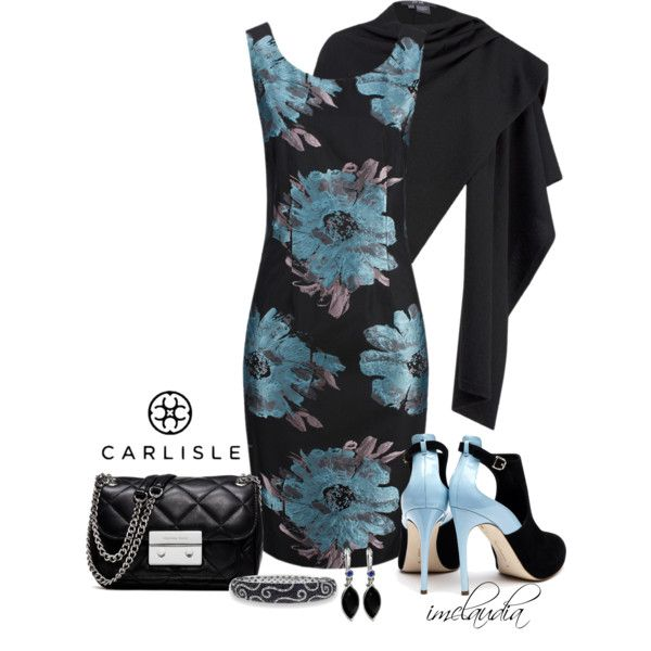 "NYFW CARLISLE CONTEST: ""Carlisle Floral Dress"" by imclaudia-1 on Polyvore"