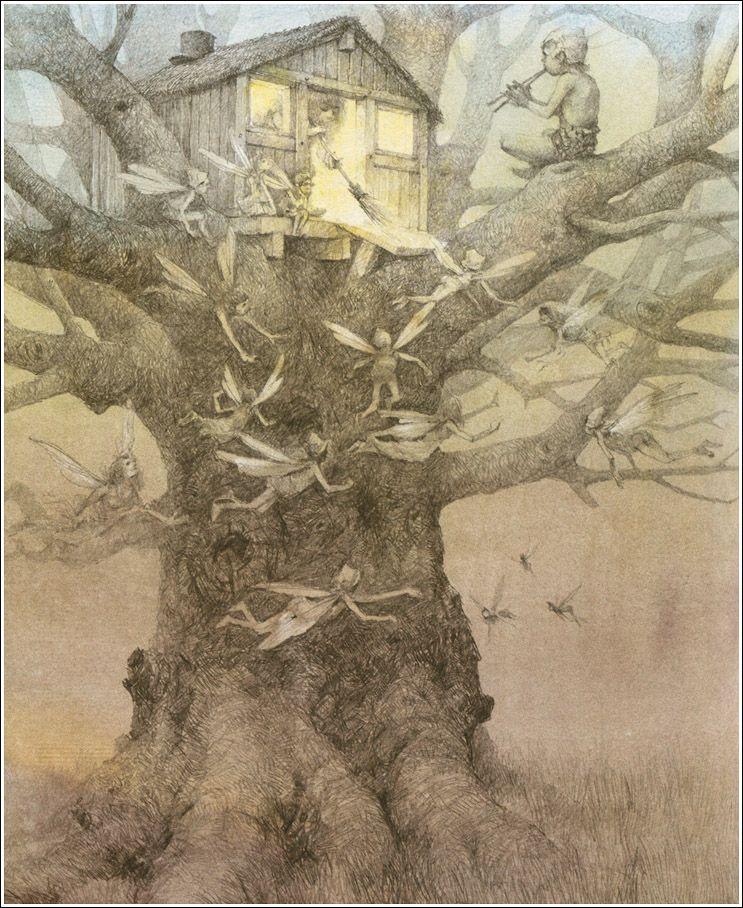 J.M. Barrie. Peter Pan and Wendy.  Illustrator Robert Ingpen, 2004.