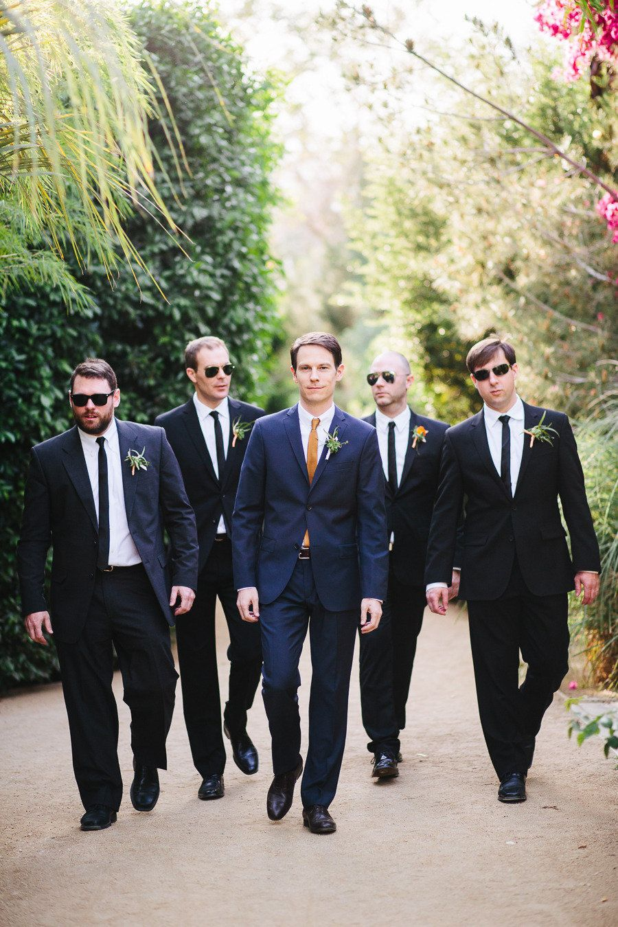 Palm Springs Wedding from Docuvitae + Bash, Please | Navy suits ...