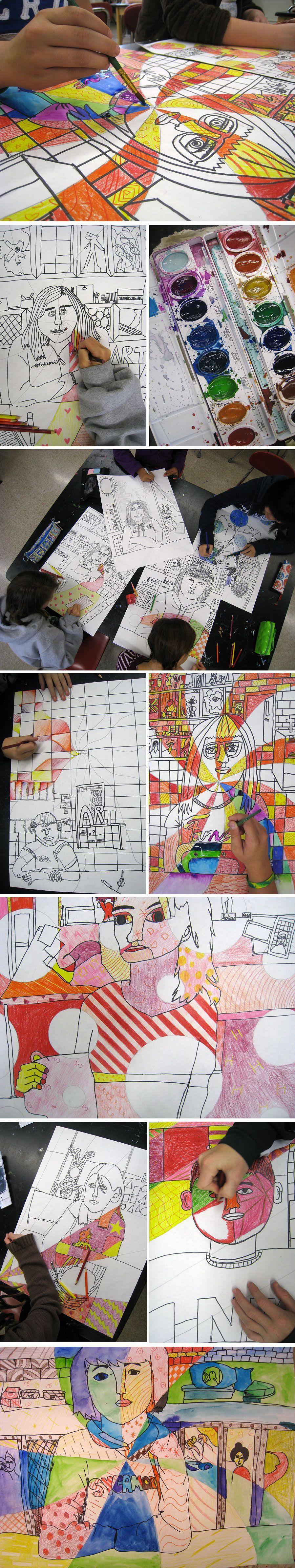Piirtäen ja maalaten