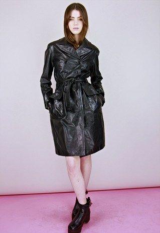 1970s coats leather women