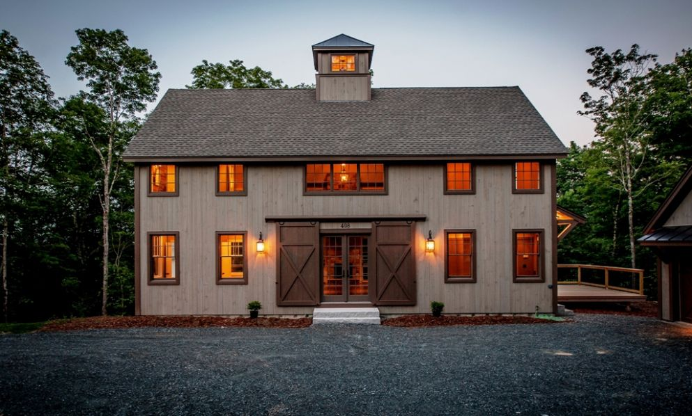 Smaller Barn House Gets Big Award Small Barns Barn And