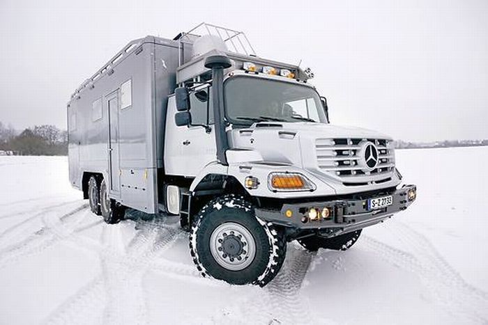 Luxury Truck : Mercedes-Benz Zetros 6×6