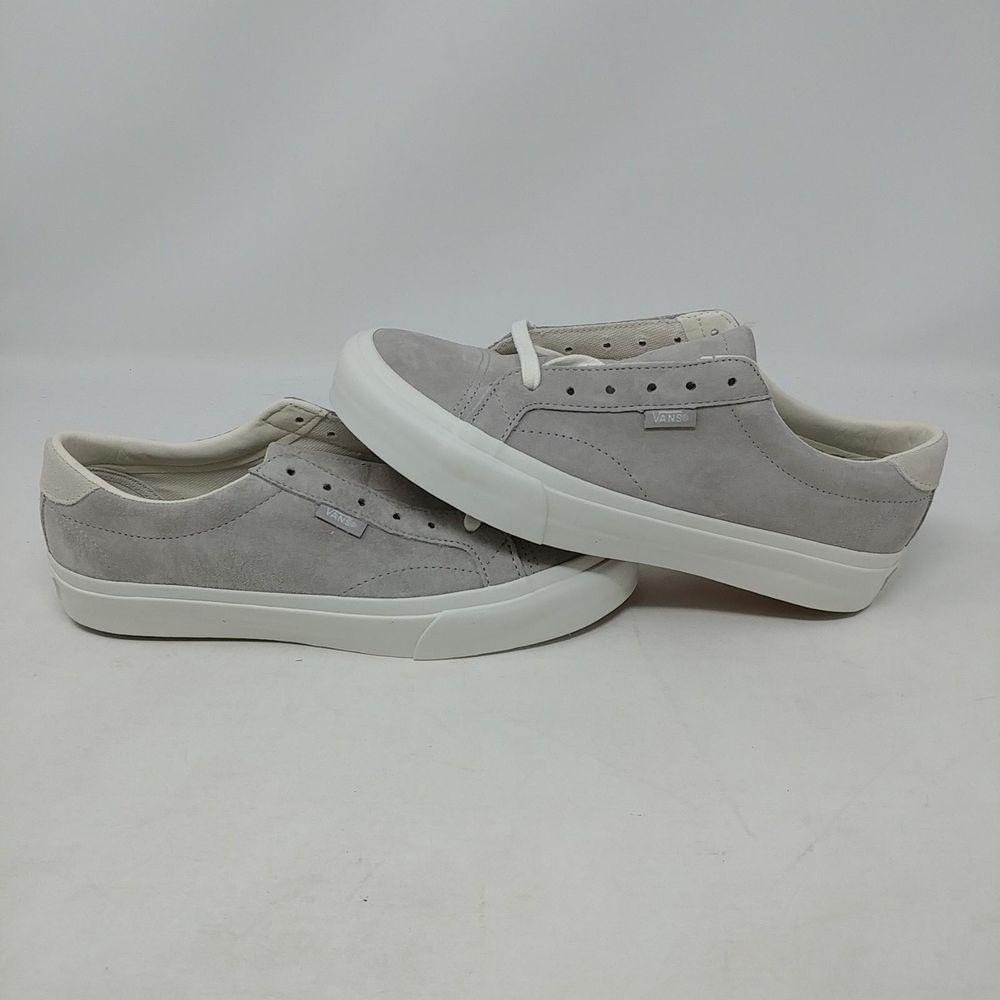 df42d115708 VANS COURT DX PIG SUEDE COOL GREY WHITE SKATE MEN S SIZE 6 WOMEN S SIZE 7.5  NWOB  fashion  clothing  shoes  accessories  unisexclothingshoesaccs ...