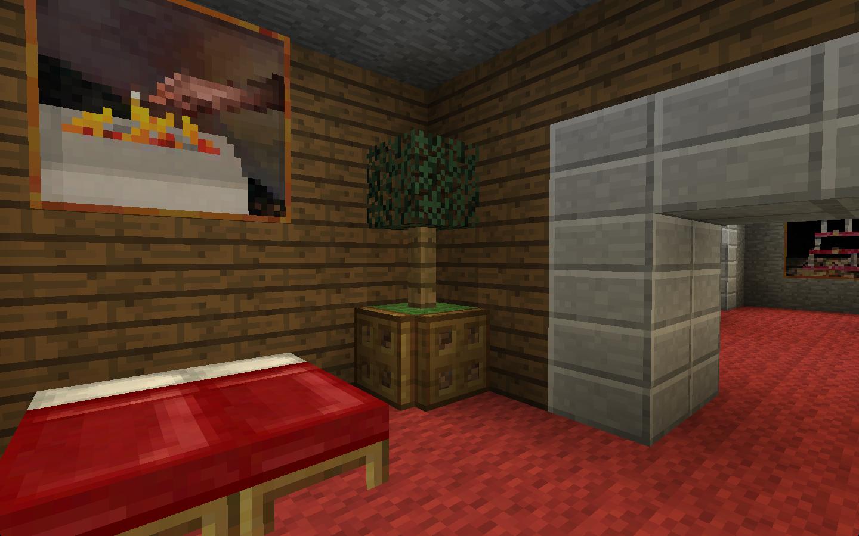 aesthetic lighting minecraft indoors torches tutorial. [Detail] Indoor Decorative Tree Aesthetic Lighting Minecraft Indoors Torches Tutorial T