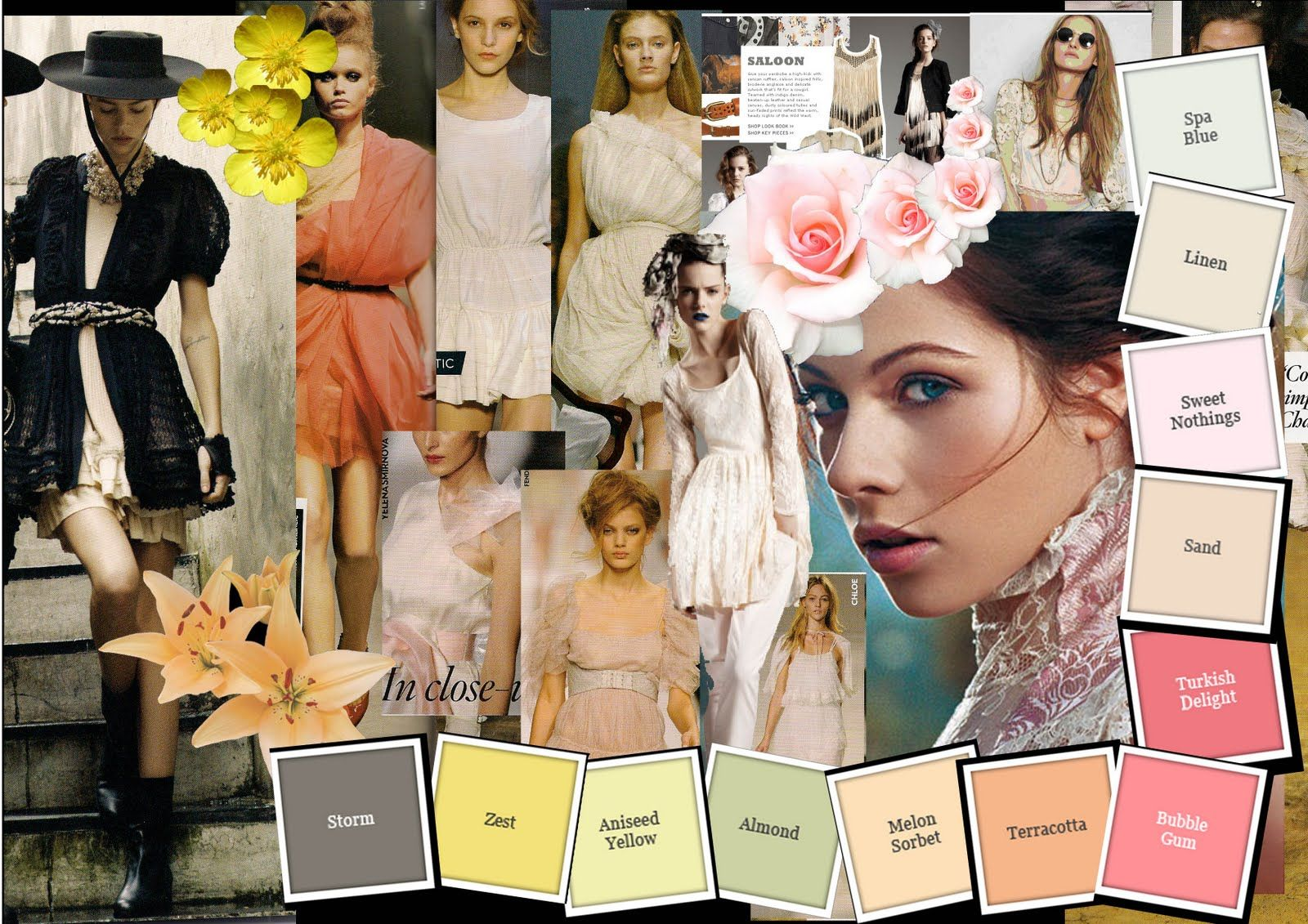 Summer Spring Presentation Board Ideas Pinterest Fashion Spring And Search
