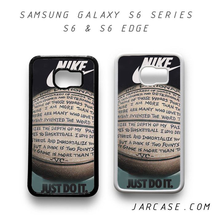 Samsung Quote Nike Basketball Quote Phone Case For Samsung Galaxy S6 & S6 Edge