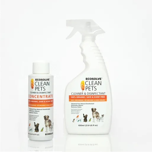 Ecosolve Clean Pets Organic Cleaner And Disinfectant Clean Pet Cleaning Pet Food Store