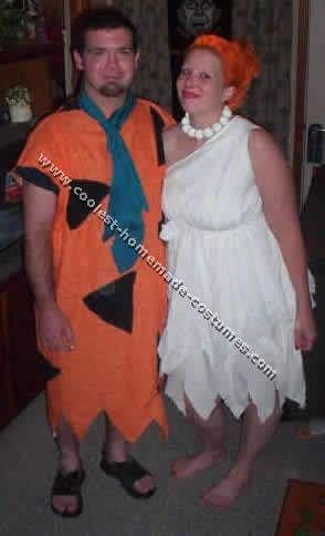 Coolest Homemade Flintstone Costume Ideas for Halloween Costumes - halloween costume ideas for the office