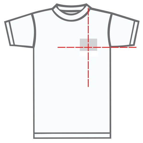 Left Chest Shirt Printing Placement Embroidery Tshirt Tshirt Designs Cricut Tutorials